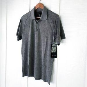 NWT Mens LULULEMON Metal Vent Tech Polo Shirt M